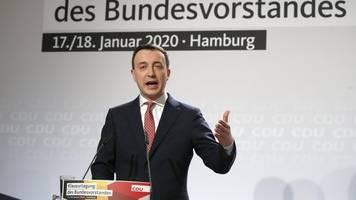Paul Ziemiak: Keine Koalition mit Linken und AfD