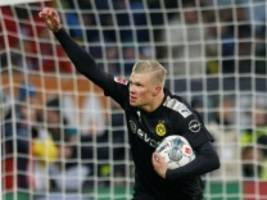 Fußball-Bundesliga: Haaland trifft dreifach - BVB siegt 5:3