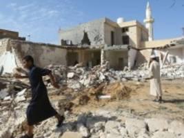 Kriegsalltag in Libyen: Leben zwischen Luftangriffen