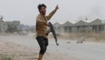 Libyen-Konferenz: UN verlangen Abzug ausländischer Kämpfer aus Bürgerkriegsland