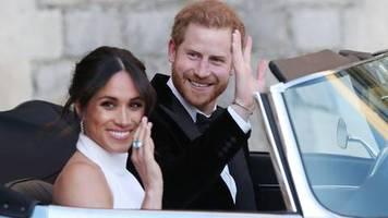news vom wochenende: buckingham-palast bestätigt: harry und meghan verzichten auf titel königliche hoheit