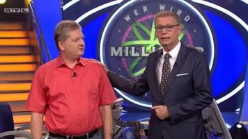 Jauch brachte ihm sogar Bier: Wer wird Millionär-Kandidat patzt zweimal bis zur 500-Euro-Frage