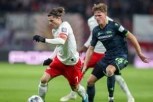 Fußball: Werner und Sabitzer treffen: Leipzig dreht Spiel gegen Union