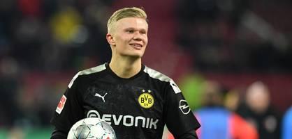 Bei seinem Debüt knackt Haaland den ersten Bundesligarekord