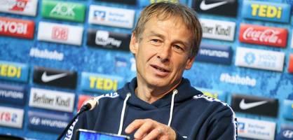 Trainerlizenz gültig – Klinsmann darf gegen FC Bayern ran