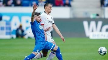 Beim Comeback von Trapp: Eintracht siegt 2:1 in Hoffenheim