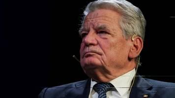 Joachim Gauck warnt CDU vor Koalition mit Linkspartei