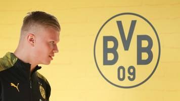 Neuzugang Haaland zunächst wie erwartet auf Dortmunder Bank