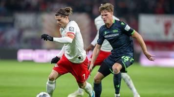Werner und Sabitzer treffen: Leipzig dreht Spiel gegen Union