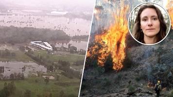 buschbrände in australien: feuer trotz starker regenfälle nicht unter kontrolle
