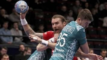 Europameisterschaft: Weißrusslands Handballer feiern Sieg gegen Tschechien