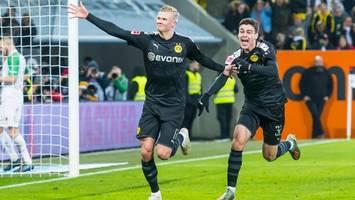 Irres Debüt von Erling Haaland: Neuzugang schießt BVB zum Sieg beim FC Augsburg