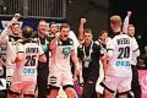 """Handball-EM 2020 - Kroatien gegen Deutschland im Live-Ticker: """"Stimmungsgeladenste Spiel dieser EM"""""""