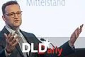 bundesgesundheitsminister auf dld-konferenz - spahn will kartellrecht reformieren, um europäische digital-champions zu schaffen