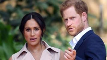 Britisches Königshaus: Harry und Meghan verzichten auf Titel