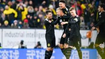 Drei Tore für Dortmund: Haaland triumphiert bei Bundesliga-Debüt