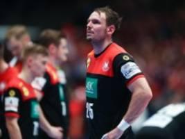 Deutschland bei der Handball-EM: Verloren nach großem Kampf