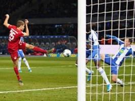 Flick-Elf siegt klar in Berlin: Der FC Bayern stoppt Klinsmanns Partypläne