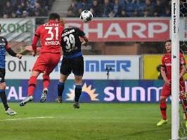 Leverkusen gewinnt beim Letzten: Vollands Doppelpack ernüchtert Paderborn