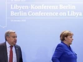 viel absicht, kaum verpflichtung: das steht in der berliner libyen-erklärung