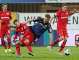 Leverkusen gewinnt deutlich in Paderborn