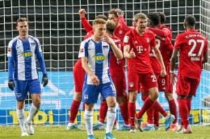Bundesliga: Hertha bleibt gegen Bayern nur die Statistenrolle