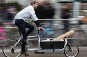 verkehr: die flotte wächst weiter: lastenräder bleiben ein trend