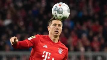 Bundesliga am Sonntag: Bayerns Lewandowski startet nach Leisten-OP gegen Hertha