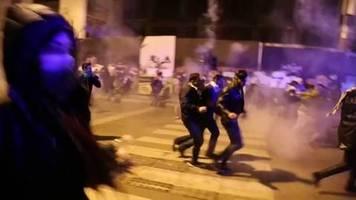 Video: Viele Verletzte bei Zusammenstößen in Beirut