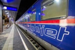 schienenverkehr: neuer nachtzug durch deutschland: das sind die stopps