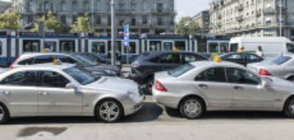 vorschläge zum klimaschutz: taxis sollen in den Öv miteinbezogen werden