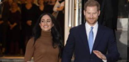 Harry und Meghan: «Die britische Öffentlichkeit verliert»