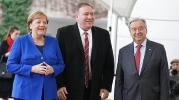 Spitzentreffen in Berlin: Libyen-Gipfel sucht nach Frieden und Embargo