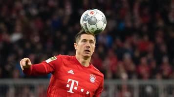 Bayerns Lewandowski startet nach Leisten-OP