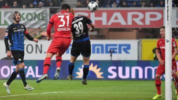 Bundesliga: Volland führt Leverkusen in Paderborn zum Sieg