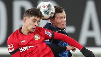 Leverkusen startet souverän in die Rückrunde gegen Paderborn