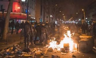 Proteste gegen Macron schlagen in Gewalt um
