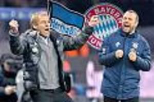Bundesliga, 18. Spieltag - Hertha BSC gegen FC Bayern im Live-Ticker: Wiedersehen mit Klinsmann