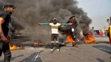 erneut regierungskritische proteste im irak