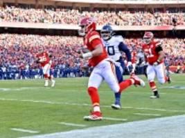 NFL Playoffs: Patrick Mahomes zu stark für die Titans, Kansas City im Superbowl