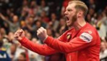 Handball-Europameisterschaft: Deutschland gewinnt gegen Österreich