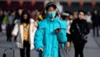 Lungenkrankheit: Neues Virus in China wird von Mensch zu Mensch übertragen