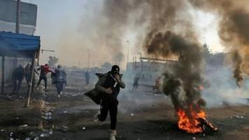 drei demonstranten bei protesten in bagdad getötet
