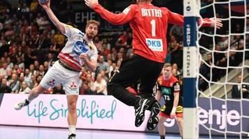 Handball-EM: Dank Bitter: DHB-Team lässt Österreich keine Chance
