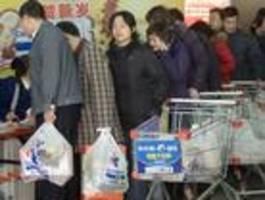 china verbietet plastiktüten in geschäften