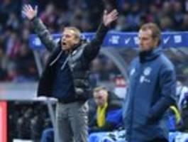 Für Hertha BSC geht es nur gegen den Abstieg