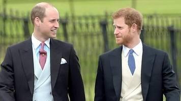 Prinz William und Prinz Harry: Große Aussprache mit Erfolg