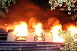 freiburger sonderzug: gutachten: heizungsdefekt löste brand in fan-zug aus
