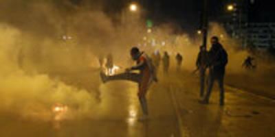 Ausschreitungen im Libanon: Polizei treibt Gewaltspirale an