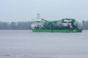 Hafen: Elbvertiefung kommt Ende Mai erneut vor Gericht